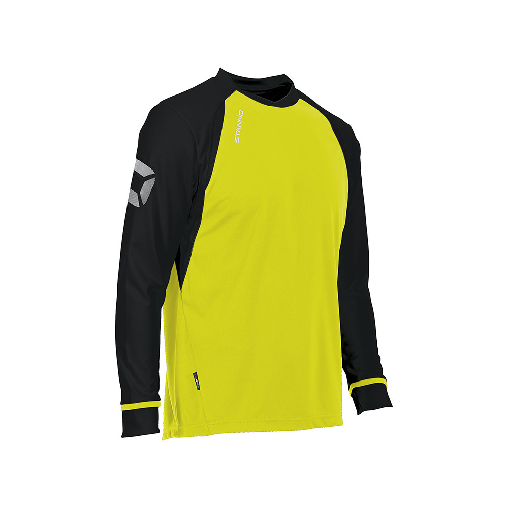 Stanno Liga Shirt Long Sleeve Neon Yellow/Black