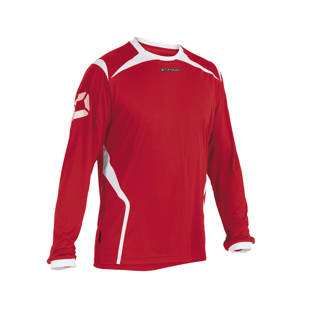 Stanno Torino Shirt Long Sleeve Red/White
