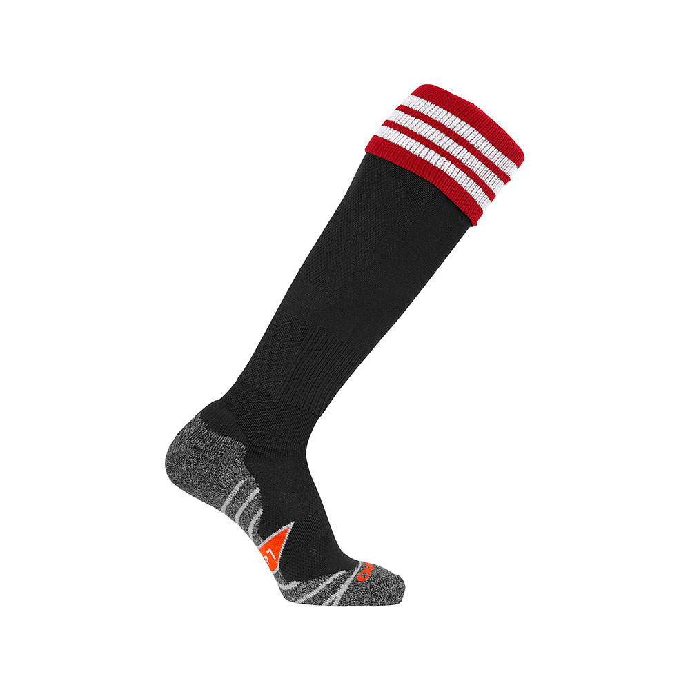 Stanno Ring Sock Black/Red/White
