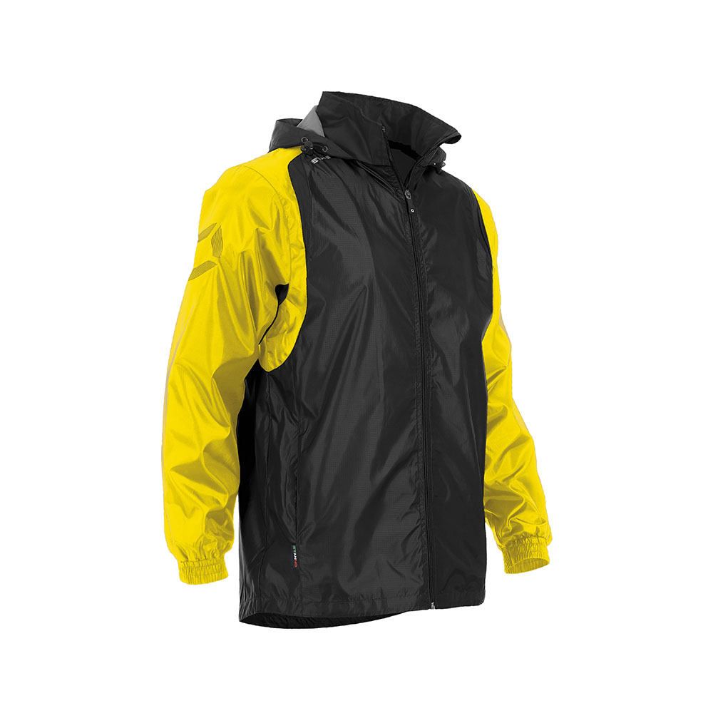 Stanno Centro Windbreaker Black/Yellow