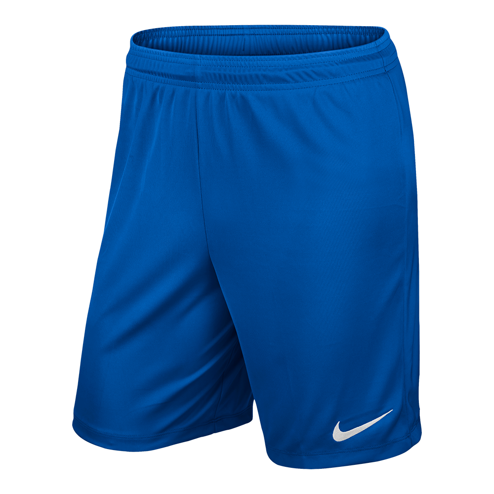 Nike Park II Knit Shorts Royal Blue