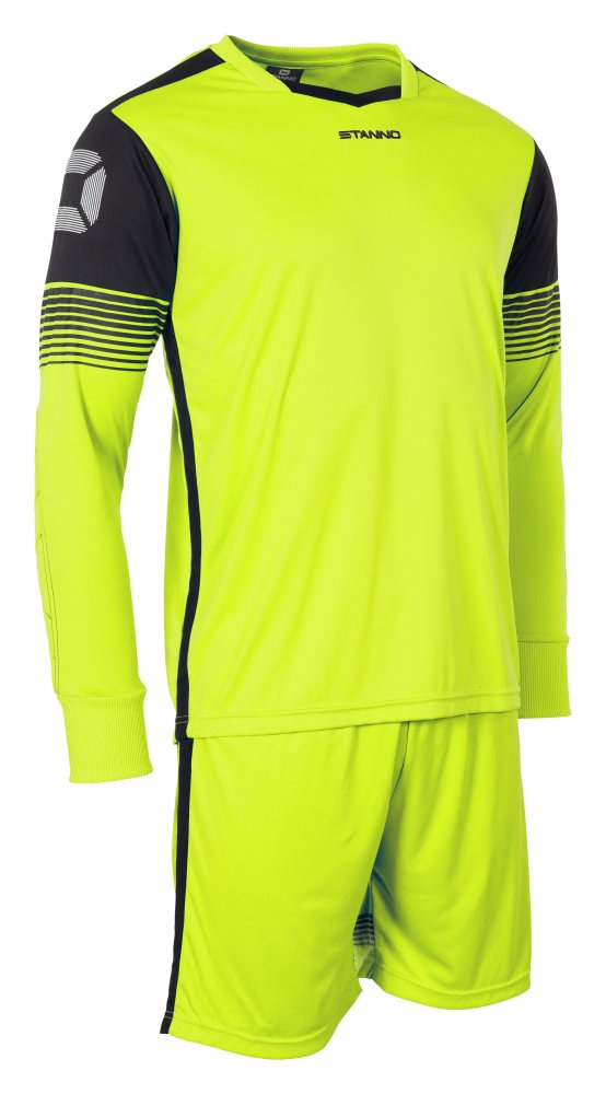 Stanno Nitro Goal Keeper Set Neon Yellow/Black