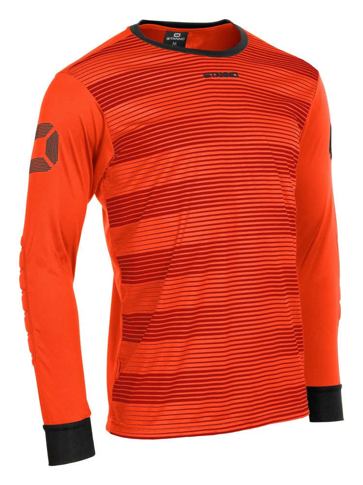 Stanno Tivoli Goalkeeper Shirt Shocking Orange/Black