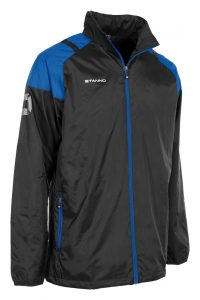 Stanno Centro All Weather Jacket Black/Royal