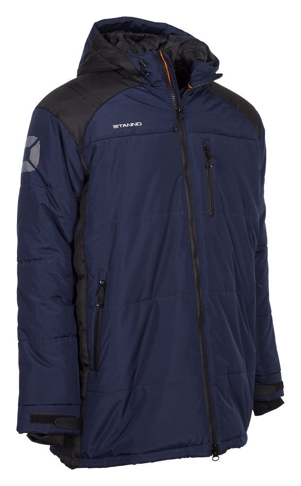 Stanno Centro Padded Coach Jacket Navy/Black