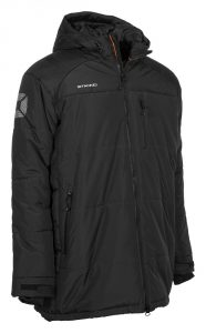 Stanno Centro Padded Coach Jacket Black