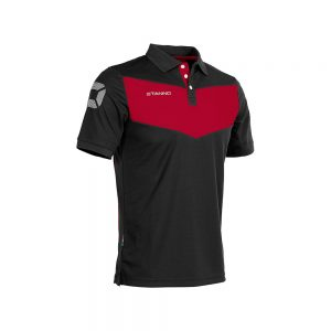 Stanno Fiero Polo Black/Red