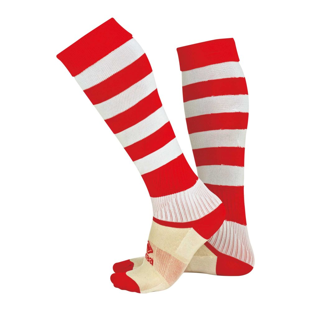 Errea Zone socks Red/White