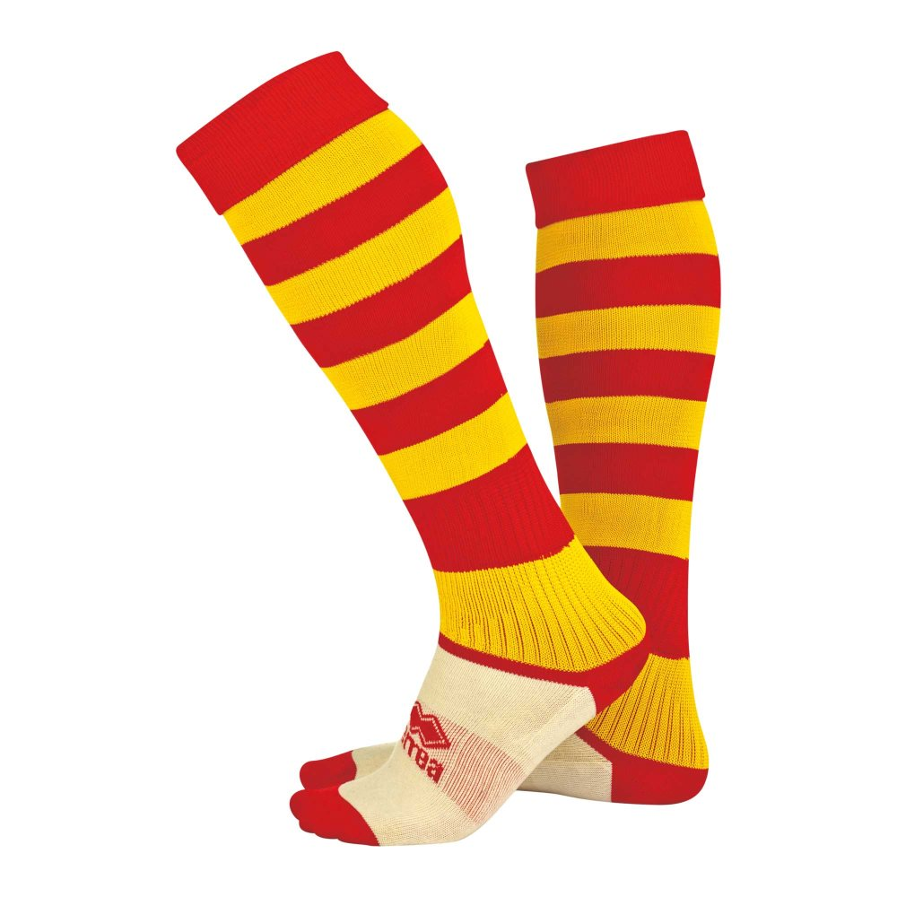 Errea Zone socks Red/Yellow