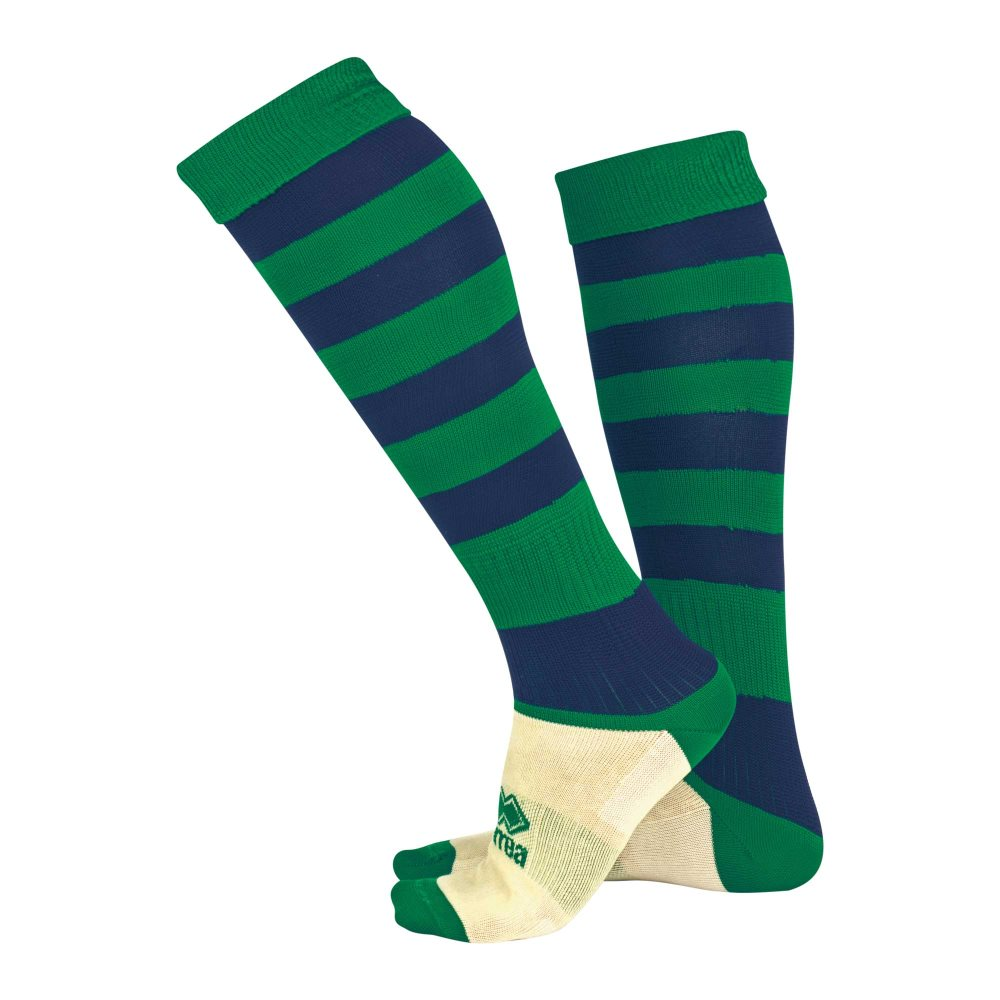 Errea Zone socks Green/Navy