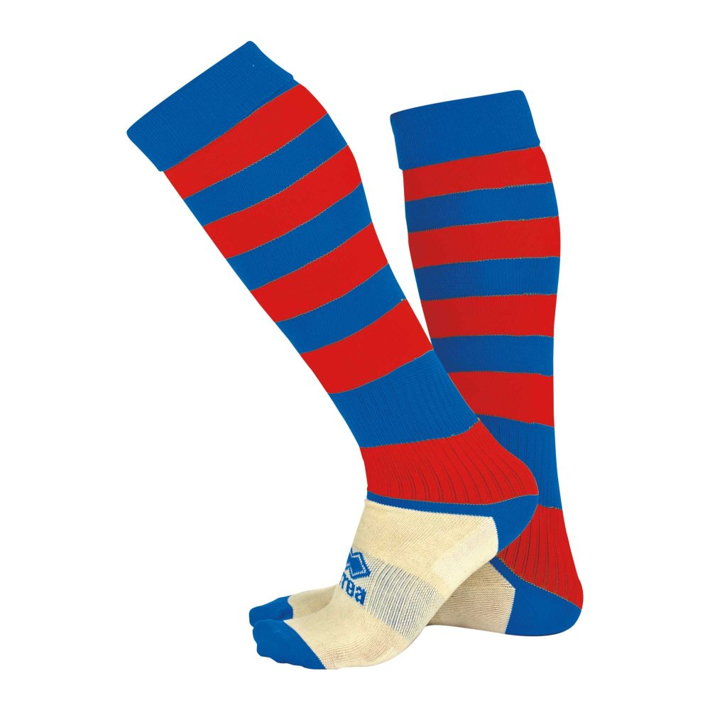 Errea Zone socks Blue/Red