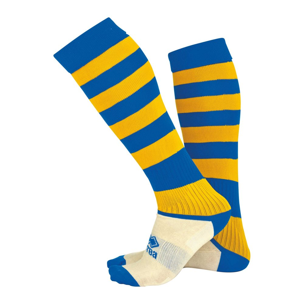 Errea Zone socks Blue/Yellow