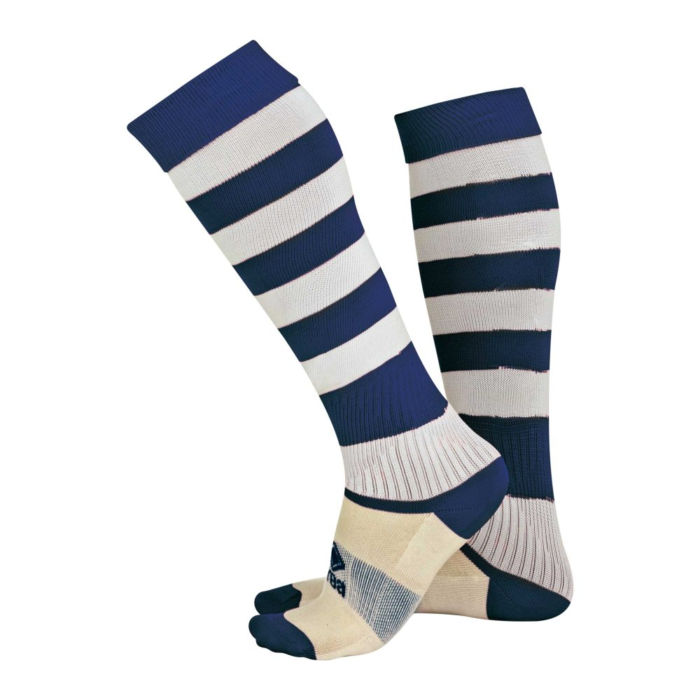 Errea Zone socks Navy/White