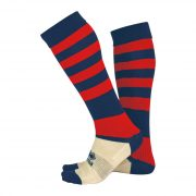 Errea Zone socks Navy/Red