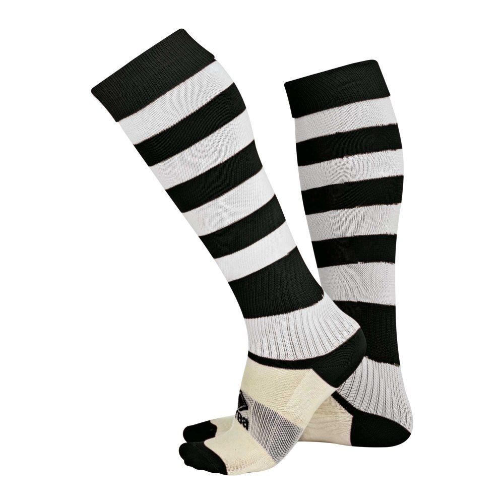 Errea Zone socks Black/White