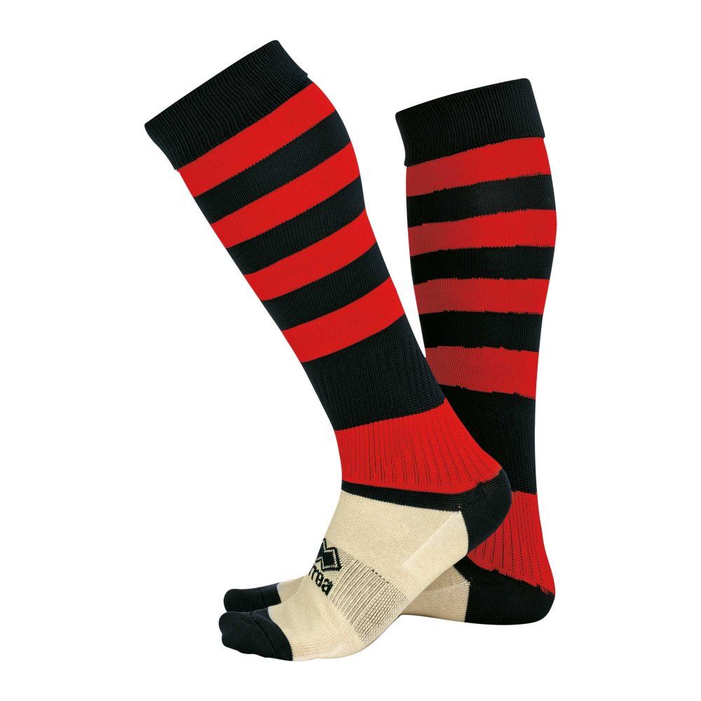 Errea Zone socks Black/Red
