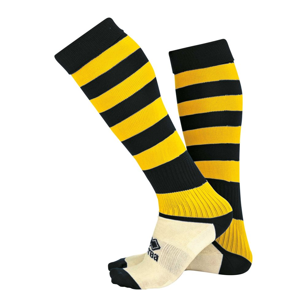 Errea Zone socks Black/Yellow