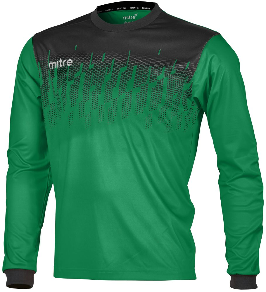 Mitre Command Goalkeeper Shirt Emerald/Black