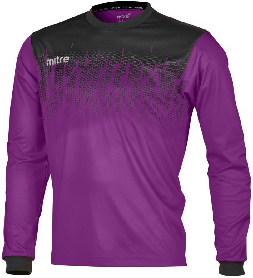 Mitre Command Goalkeeper Shirt Violet/Black