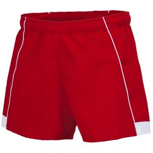 Errea Grubber Rugby Short Red/White