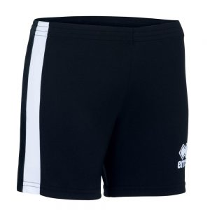 Errea Womens Amazon Short Black/White