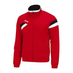 Errea Forset Tracksuit Top Red/Black/White
