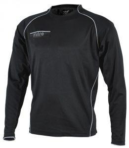 Mitre Diffract Referee Shirt Black/White