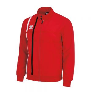 Errea Miguel Tracksuit Top Red/White/Black