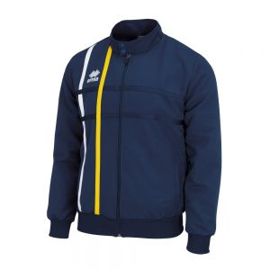 Errea Miguel Tracksuit Top Navy/White/Yellow