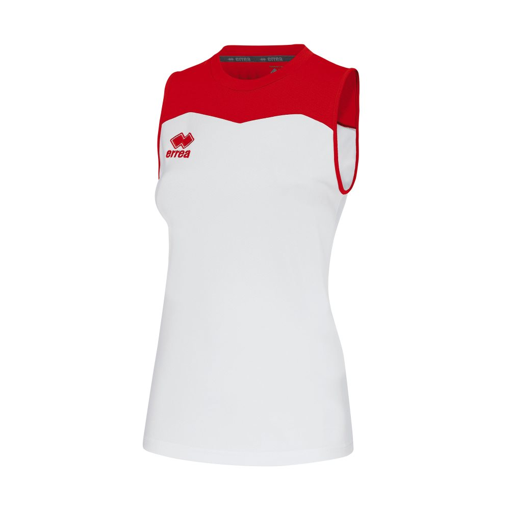 Errea Womens Glenda Shirt White/Red