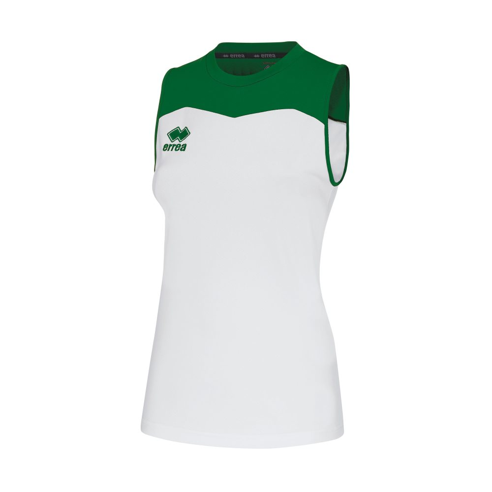 Errea Womens Glenda Shirt White/Green
