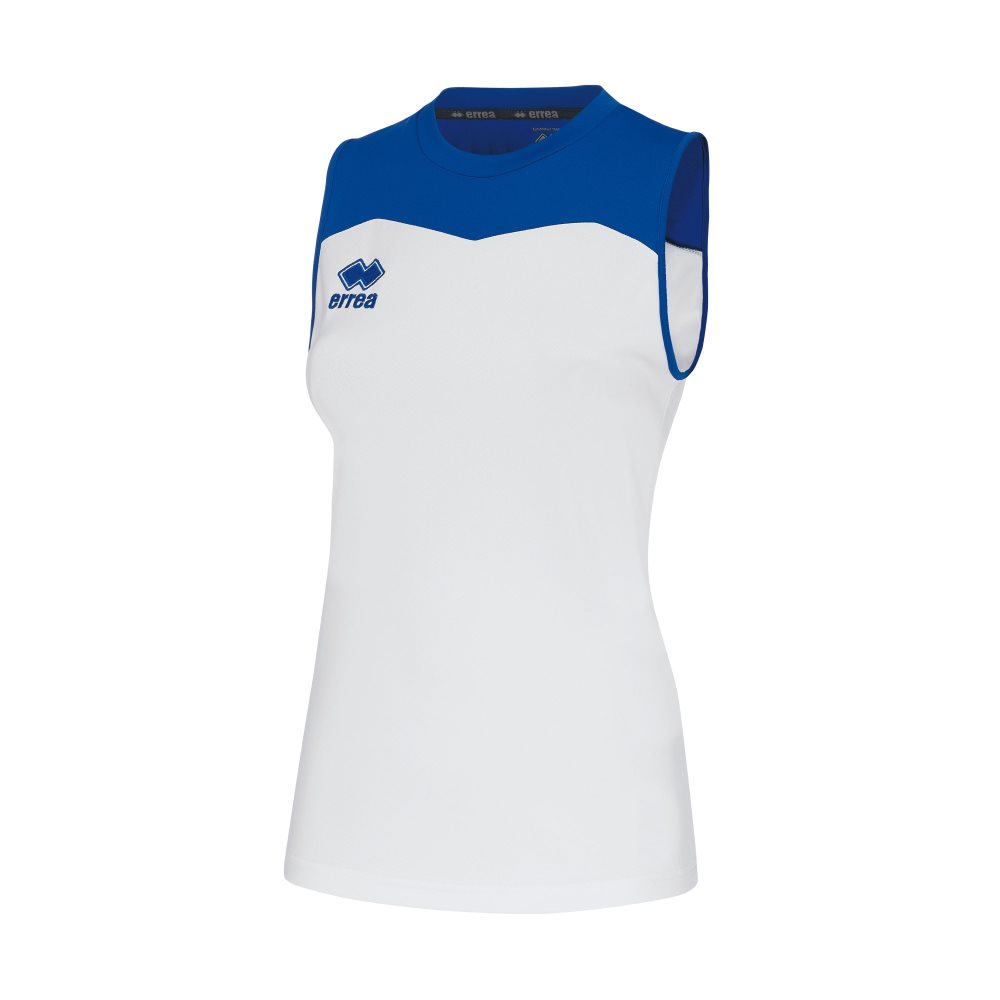 Errea Womens Glenda Shirt White/Blue