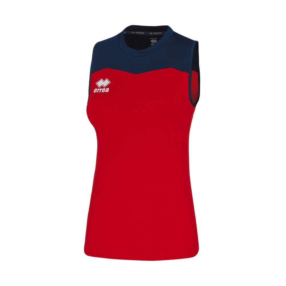 Errea Womens Glenda Shirt Red/Navy