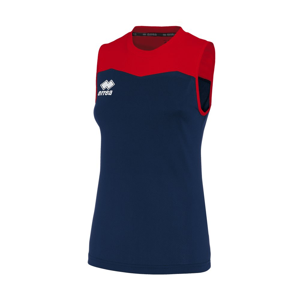 Errea Womens Glenda Shirt Navy/Red