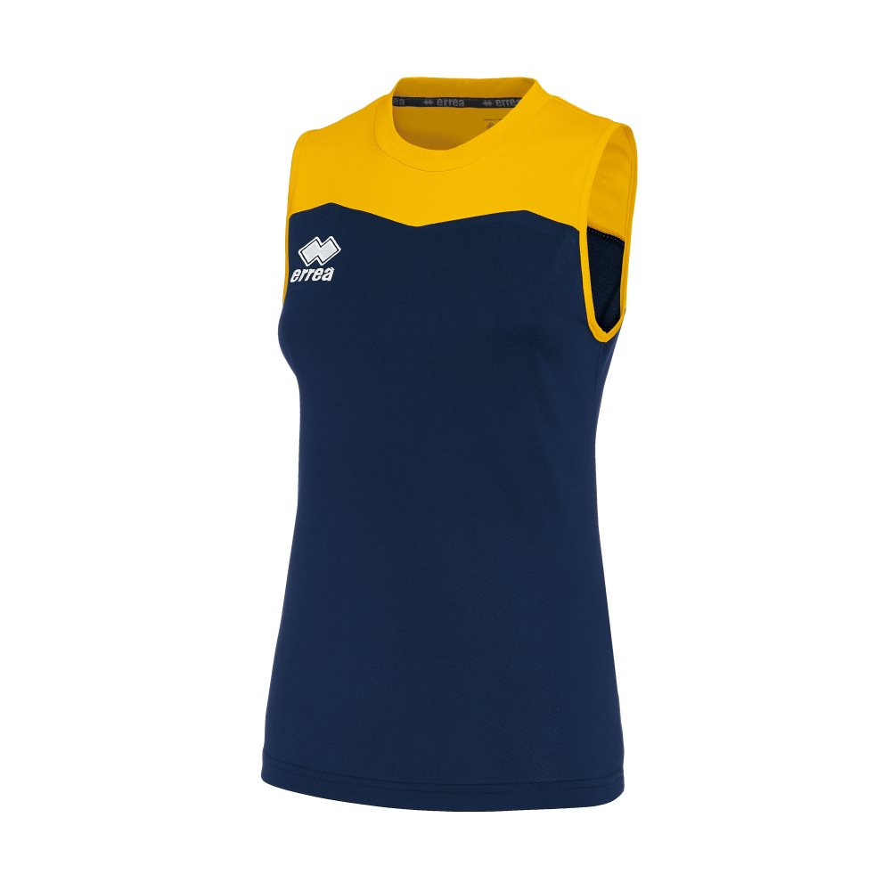 Errea Womens Glenda Shirt Navy/Yellow