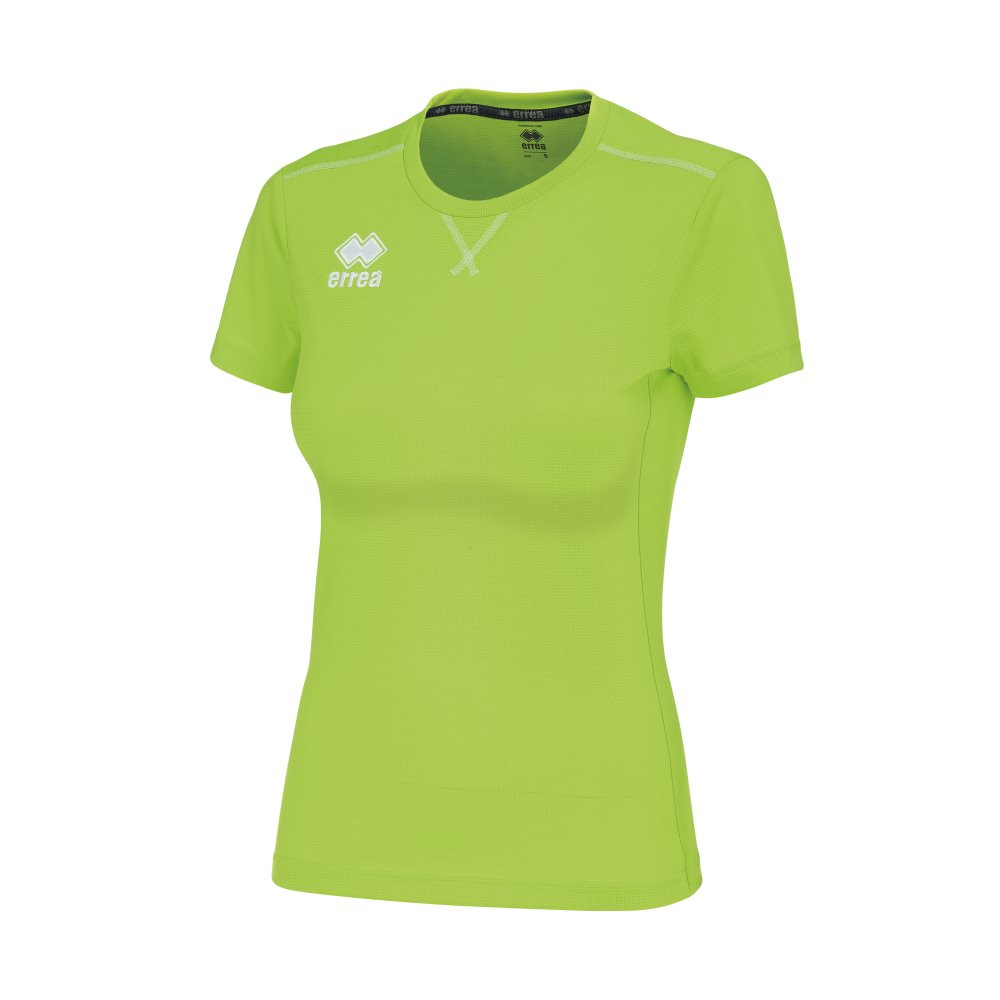 Errea Womens Marion Shirt Green Fluo
