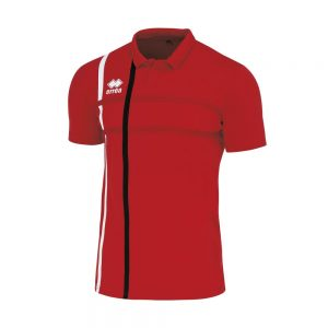 Errea Mardock Polo Red/White/Black
