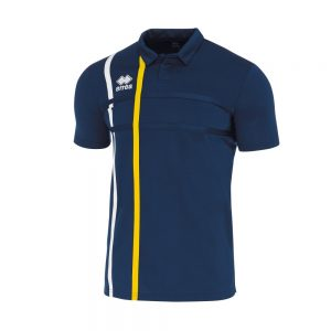 Errea Mardock Polo Navy/White/Yellow