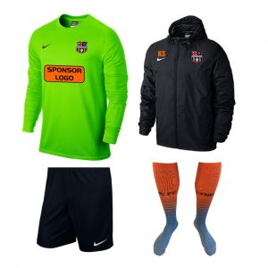 Lyne Gold Goalkeeper Kit Bundle