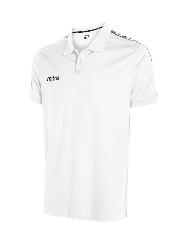 Mitre Delta Polo White/Black