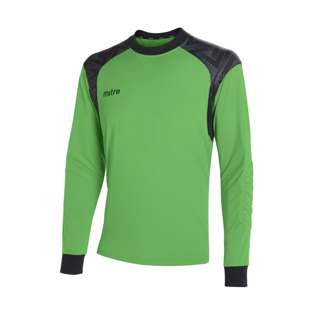 Mitre Guard Goalkeeper Jeresy Lime/Black