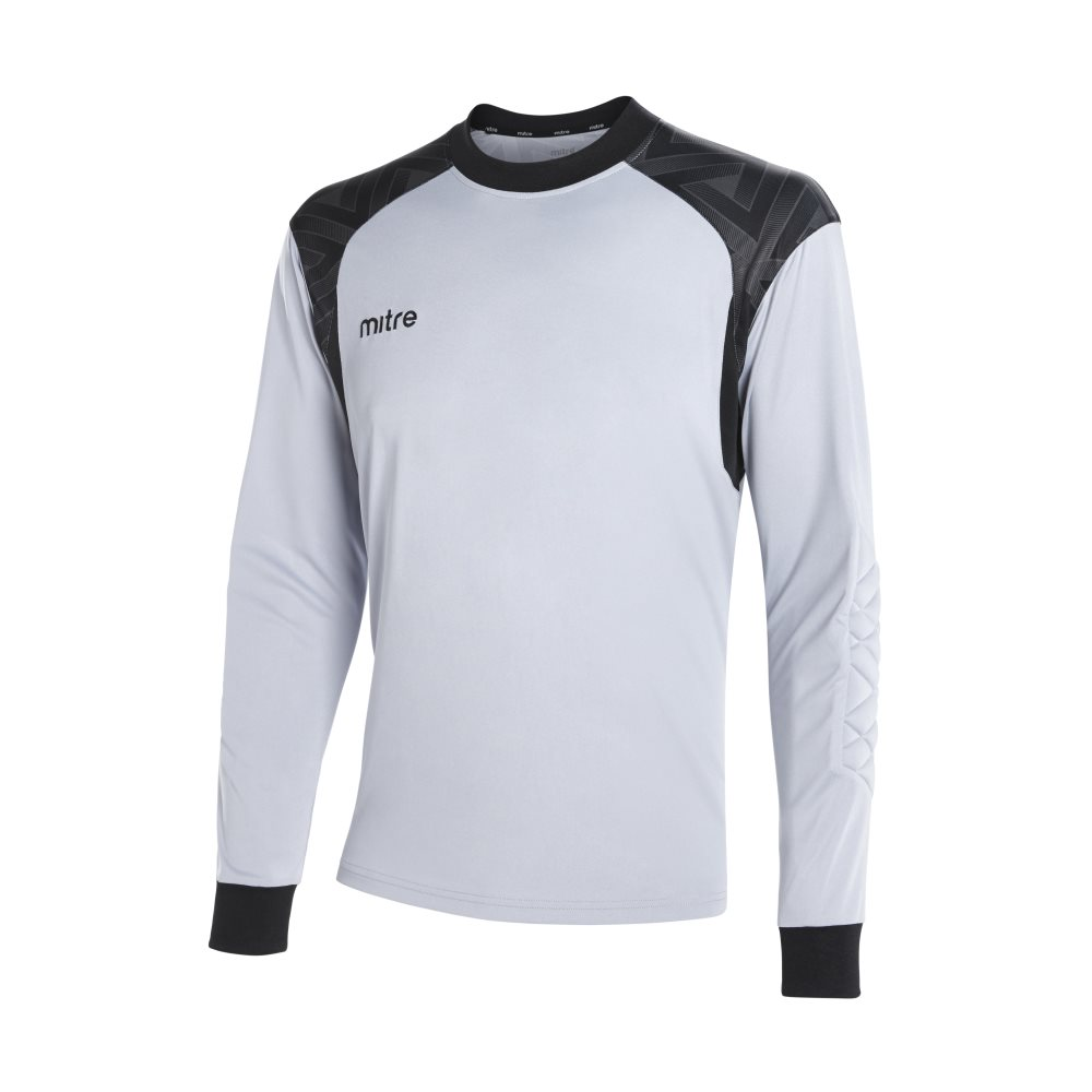 Mitre Guard Goalkeeper Jeresy Silver/Black
