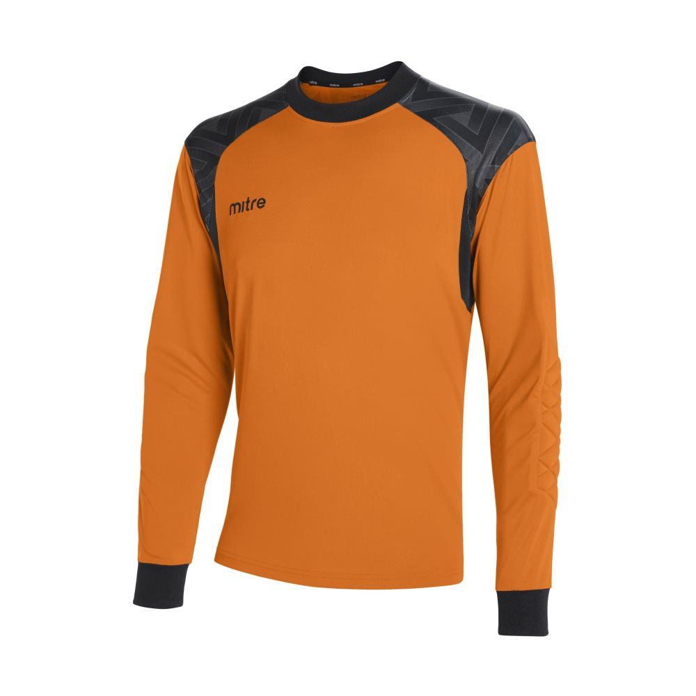 Mitre Guard Goalkeeper Jeresy Tangerine/Black