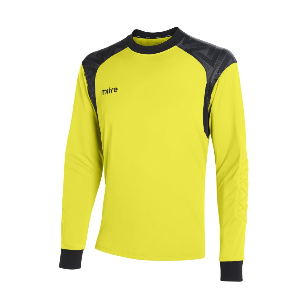 Mitre Guard Goalkeeper Jeresy Yellow/Black