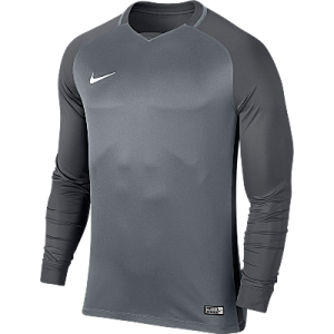 Nike Trophy III Jersey Long Sleeve Cool Grey/Dark Grey/Dark Grey