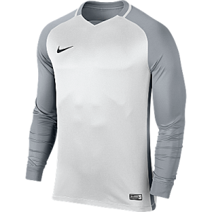 Nike Trophy III Jersey Long Sleeve White/Wolf Grey/Wolf Grey/Black