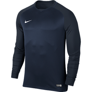 Nike Trophy III Jersey Long Sleeve Midnight Navy/Dark Obsidian/Dark Obsidian