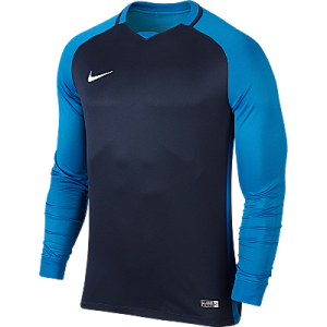 Nike Trophy III Jersey Long Sleeve Midnight Navy/Lt Photo Blue/Lt Photo Blue/White