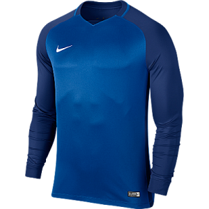 Nike Trophy III Jersey Long Sleeve Royal Blue/Deep Royal Blue/Deep Royal Blue/White