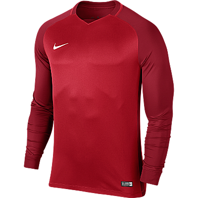 Nike Trophy III Jersey Long Sleeve University Red/Gym Red/Gym Red/White